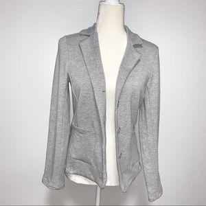 Gray Knit Blazer • New with Tags • M • Rachel Zoe